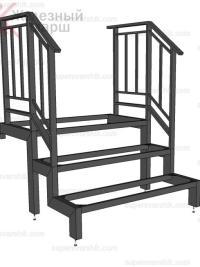 уличные металлические лестницы для дачи