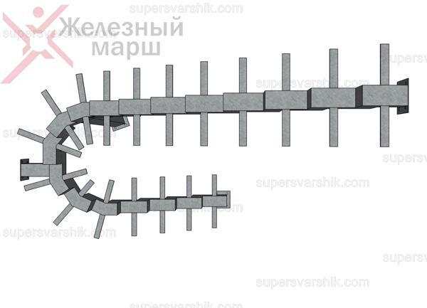 лестница на монокосоуре в Москве
