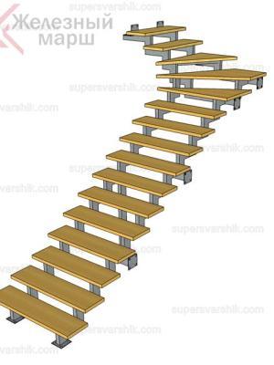 лестницы металлические дешево