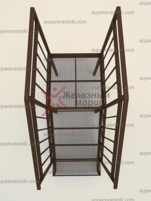 лестница уличная железная