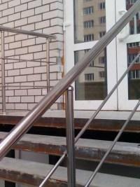 Уличное ограждение для крыльца из нержавеющей стали