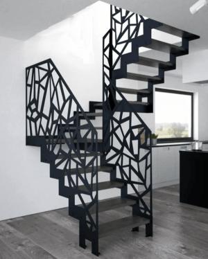 Лестница из листового металла