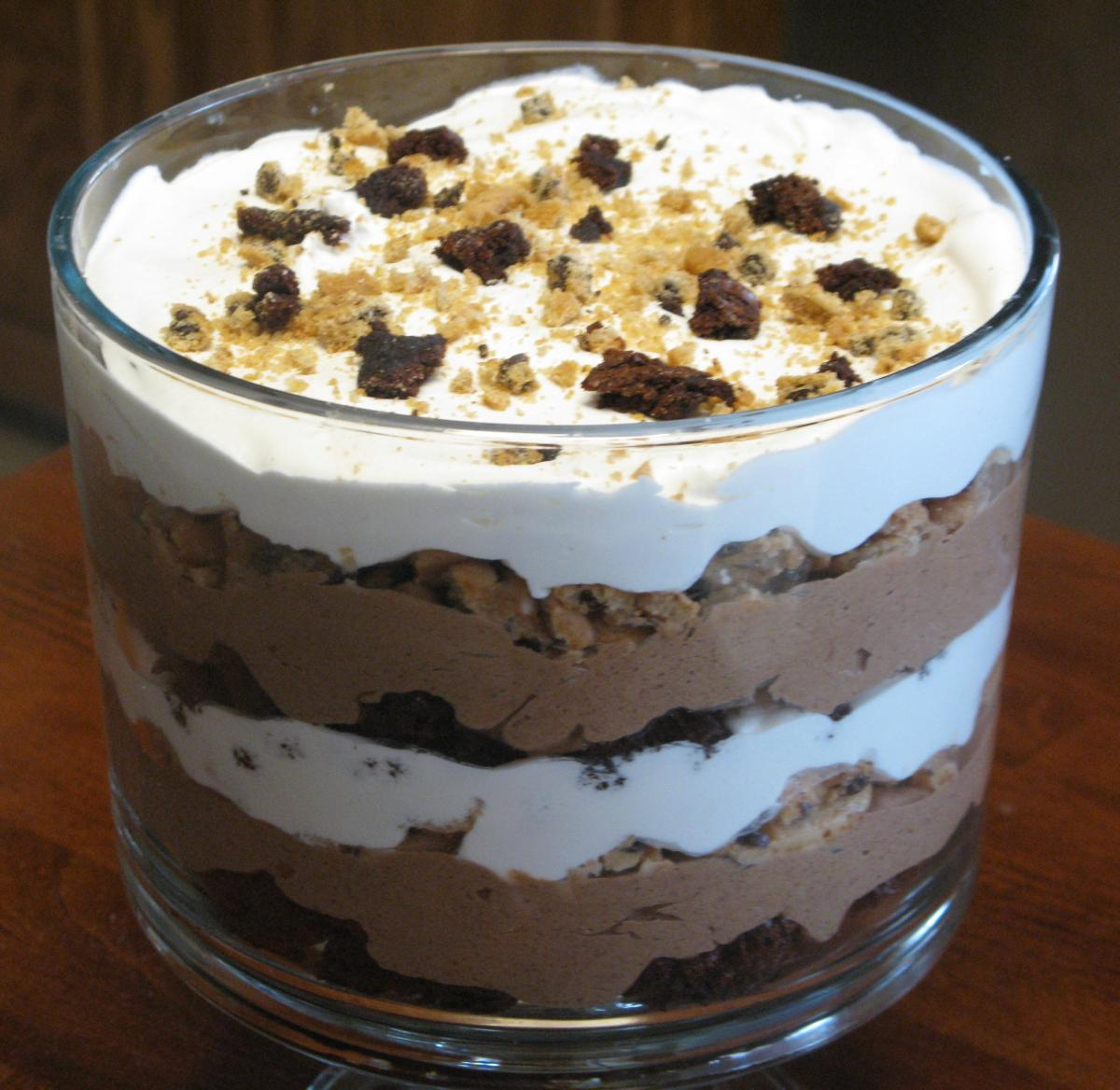 Chocolate Chip Cookie Trifle