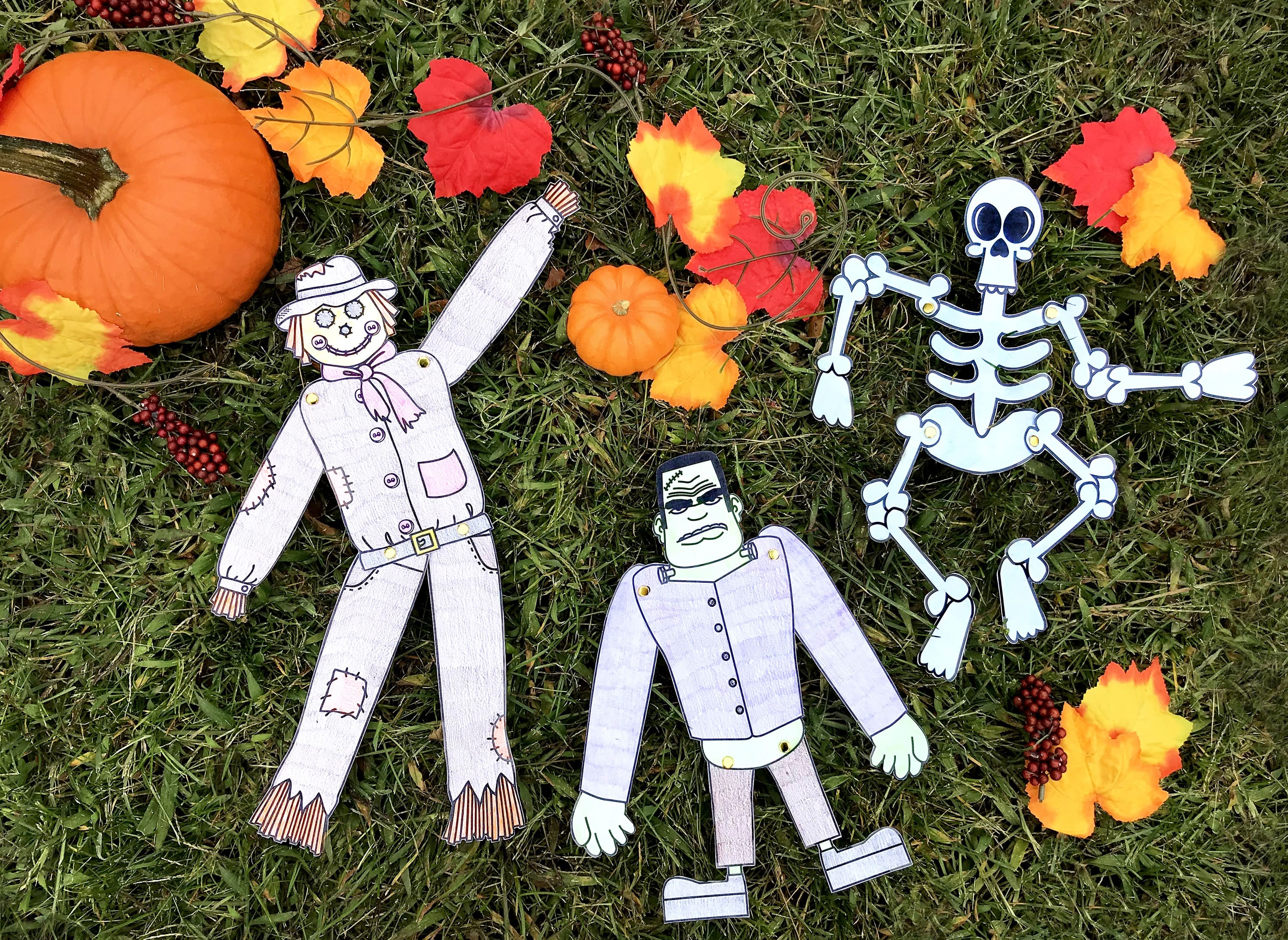 Halloween Cut Out Crafts