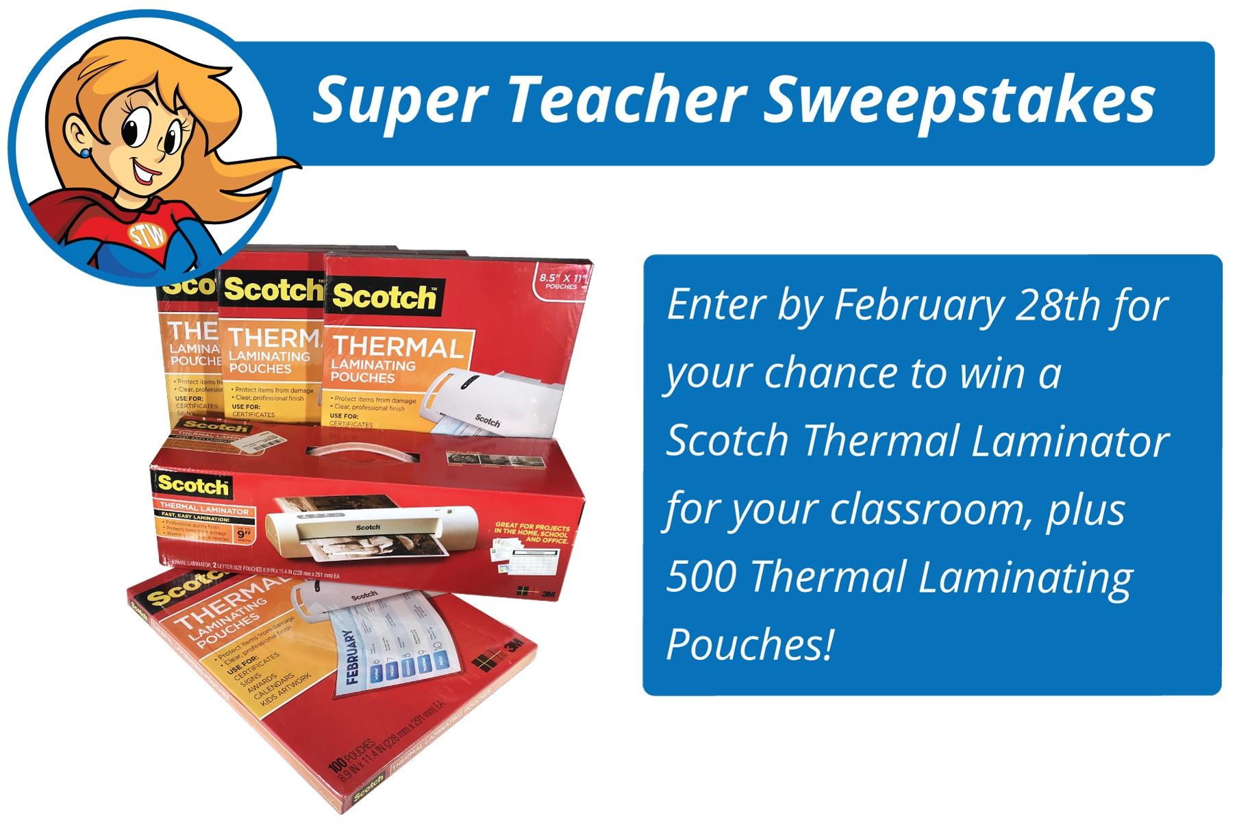Super Teacher Sweepstakes