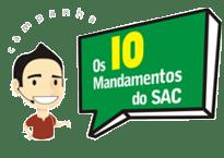 Os 10 mandamentos do SAC