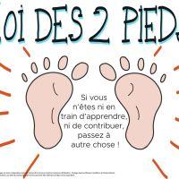 Loi des 2 pieds