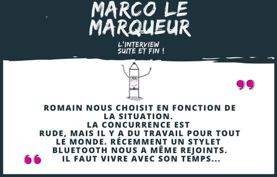 La facilitation graphique vue par Marco le Marqueur
