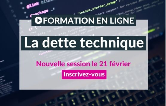 Formation clean code dette technique