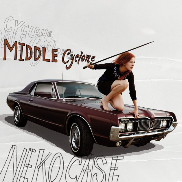Album cover for Middle Cyclone
