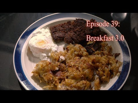 Episode 39: Breakfast 3.0 (Lorne Sausage, Hashbrowns, and Poached Egg)