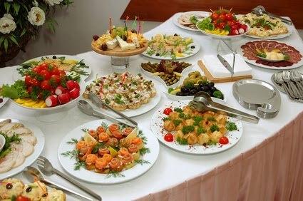 DIY Wedding Reception Food Platters