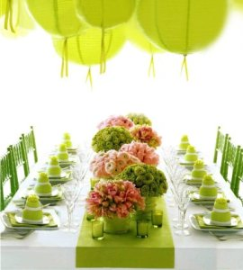 Small Wedding reception picture