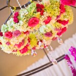 Wedding Floral Chandelier DIY