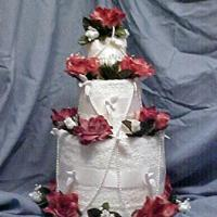 How to Make a Towel Cake for a Bridal Shower