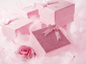 Picture of wedding gifts
