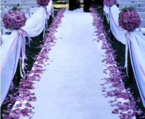 Picture of Wedding Aisle Runner