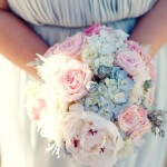 Wedding Bouquet in Soft Pastels