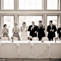 Wedding Reception Head Table Picture