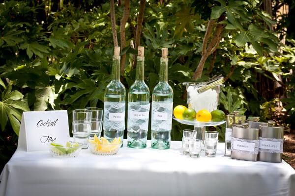 Wedding Reception Bar