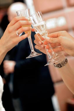 Toast to a wedding vow renewal