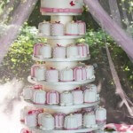 Cupcake Wedding Cake Designed With Adorable Presents