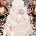 Glamorous Glitter Cake