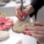 Alternative to Guest Book – Rocks for Guests to Sign!