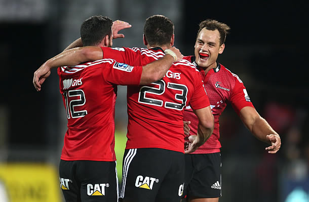 Israel Dagg returns to the Crusaders Super rugby team