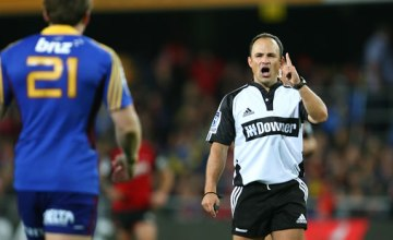 Super rugby referee Jaco Peyper