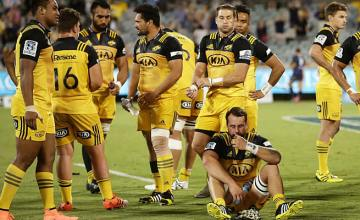The Hurricanes were well beaten in Canberra