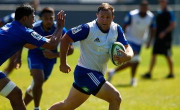 James Parsons during a Blues Training Session