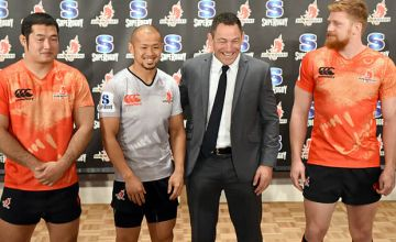 The Sunwolves have confirmed that coach Mark Hammett will leave at the end of the season