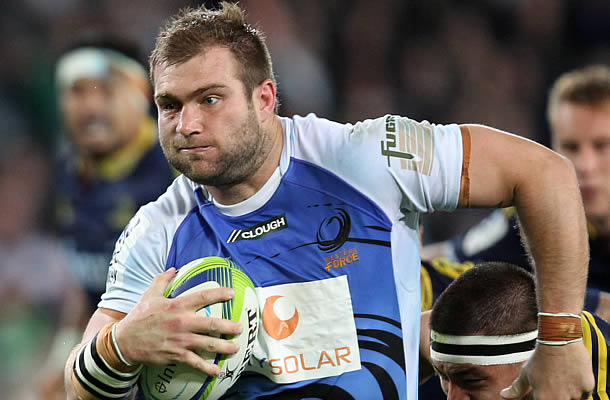 Ben McCalman has been named on the Force's replacements bench