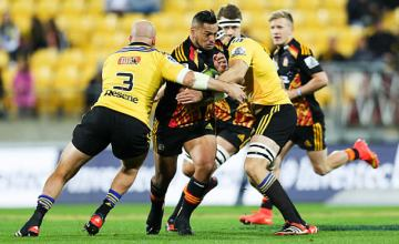 Hika Elliott will play his 100th match for the Crusaders