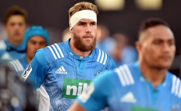 Josh Bekhuis will win his 100th Super Rugby cap for the Blues