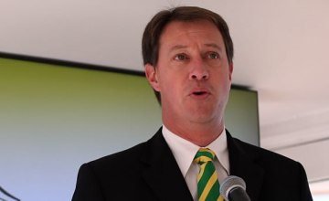 SA Rugby CEO Jurie Roux