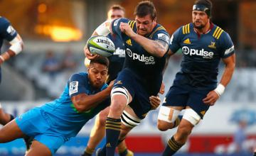 Liam Squire has been included for this weekend's Super rugby match