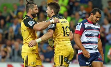 Beauden Barrett starts for the Hurricanes against the Blues