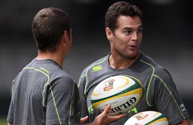 Springboks director of rugby Rassie Erasmus