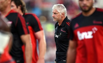Crusaders head coach Todd Blackadder