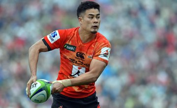 Yu Tamura captains the Sunwolves in Durban
