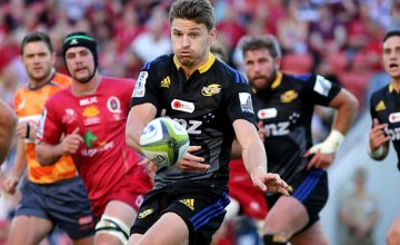 Beauden Barrett has recovered from an injury and will start this weekend