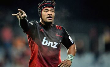 Jordan Taufua will make his 100th appearance for the Crusaders