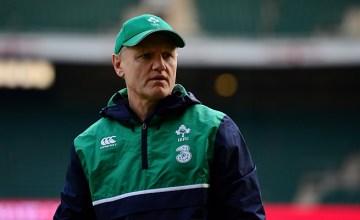 Ireland coach Joe Schmidt is on the Chiefs radar