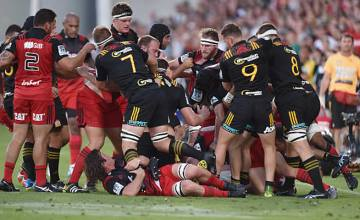 The Chiefs and Crusaders met in Round One this year