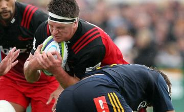 Scott Barrett leads the Crusaders in their Super rugby opener