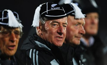 Former All Black coach Laurie Mains
