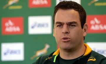Springbok assistant coach Johan van Graan