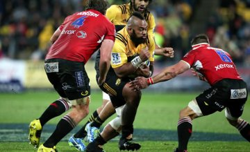 Loni Uhila has been issued with a warning